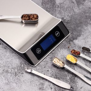 Stainless Steel Digital Scale – 11lb/5kg