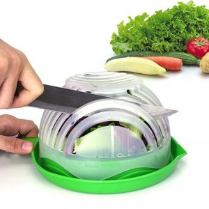 Prepare Your Salad In 60 Seconds – Salad Cutter Bowl