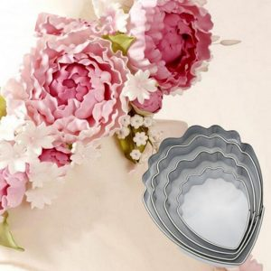 3D Flower Shape Cookie Mold 4-6Pcs Set