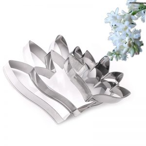 Tuberose Flower Shape Mold 3Pcs
