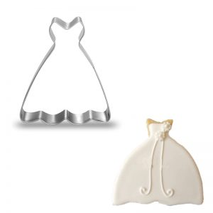 Women Dress Cookie Molds