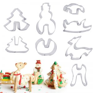 Christmas Series Stainless Steel Cookie Molds