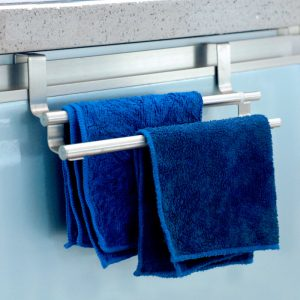 Kitchen Cabinet Towel Holder