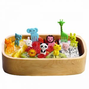 Animal Farm Cartoon Mini Fork 10Pcs Set