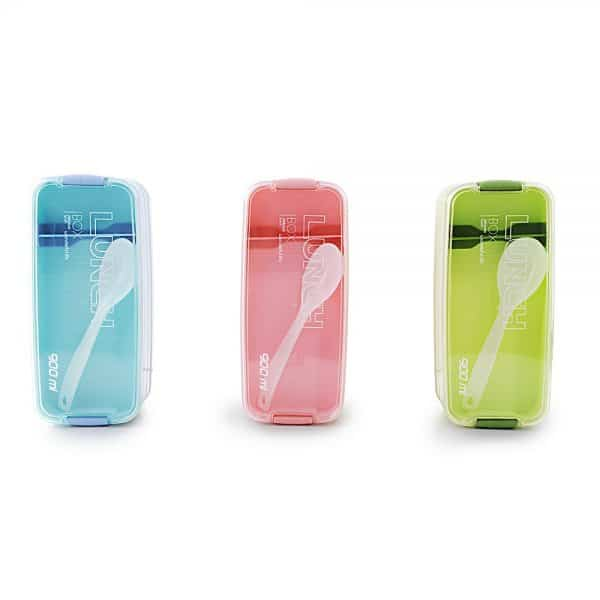 Portable 3 Layer Lunch Box Microwavable