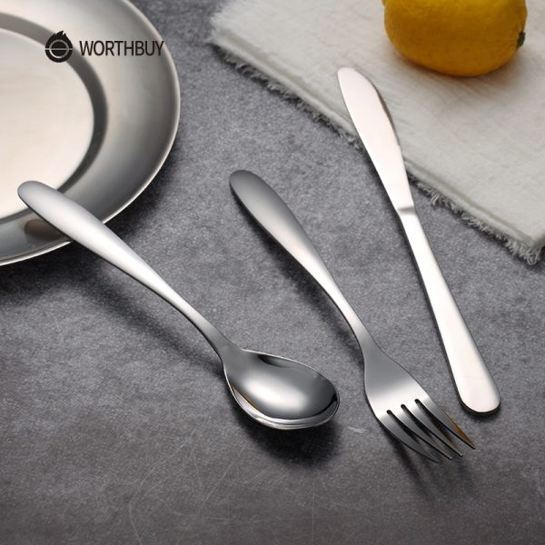 Portable Stainless Steel Tableware Set With Box