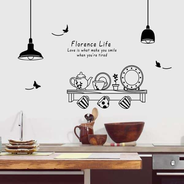 Florence Life Wall Decal 60x90cm