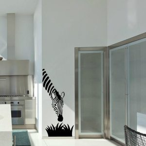 Zebra Kitchen Wall Decal