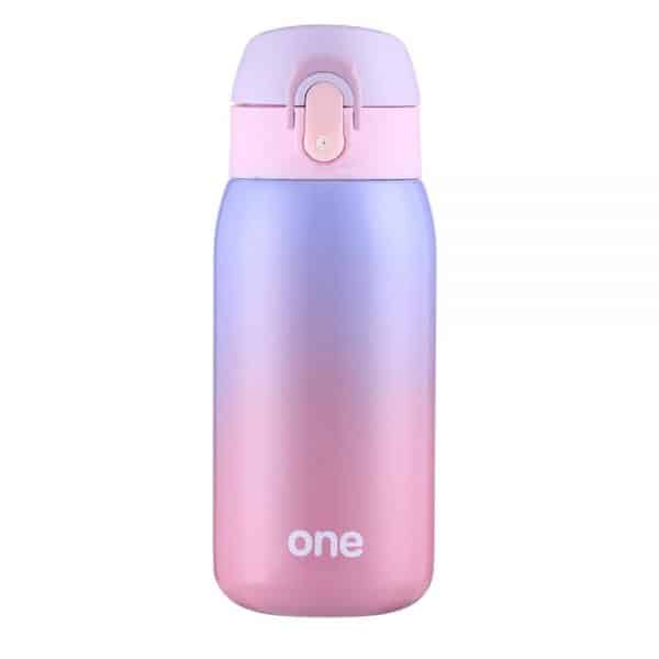 320ML Colorful Stainless Steel thermos Bottle – Purple Gradient