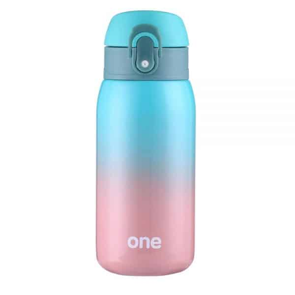 320ML Colorful Stainless Steel thermos Bottle – Green Gradient
