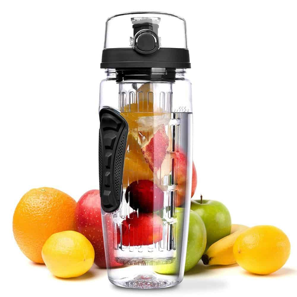 Fruit Infuser & Sports Water Bottle