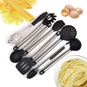 Elegant Design 6 & 8 Pieces Cooking Utensils Set
