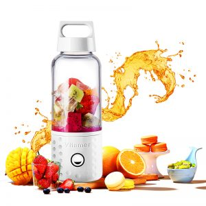 Smoothies On The Go – Travel and Workout Fruit Mixer Bottle USB Rechargeable