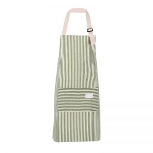 Unisex Cooking Aprons With Stripe Design