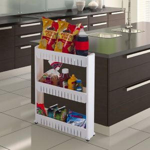 Multi-layer Shelf Side Storage & Organizer