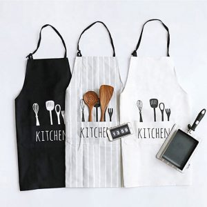 Utensils & Typography Apron