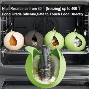 Microwave Fish Silicone Poacher & Steamer