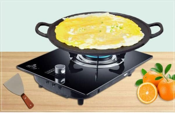 Non Stick & No-coating Flat Grill Pan