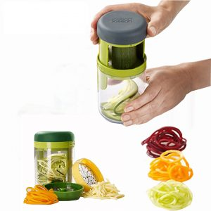 3 In 1 Hand-Held Vegetable & Fruits Spiralizer