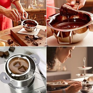 Stainless Steel Chocolate Melting Bowl
