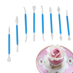 Cake Decoration & Shaping Knifes 16 Patterns