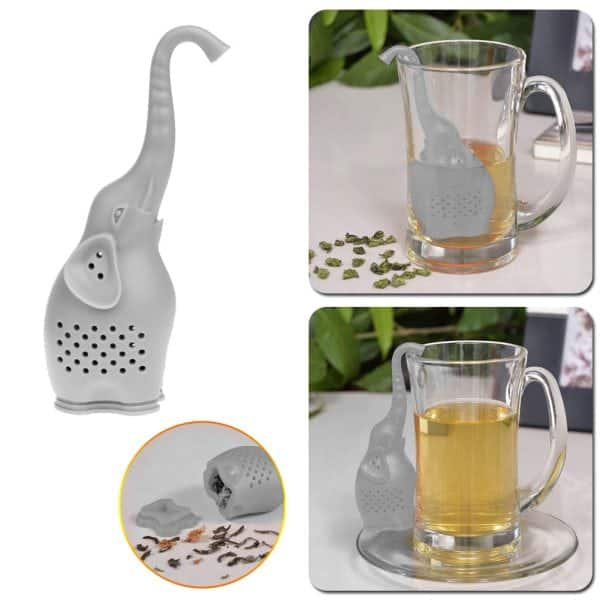 Elephant Teapot Infuser – Silicone