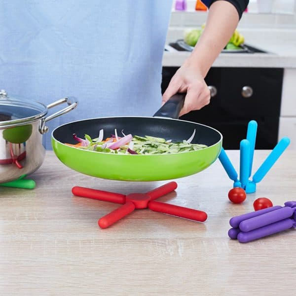 Folding Silicone Pot Mat