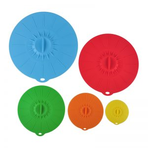 Silicone Cover Lid for Storage  (Microwavable)