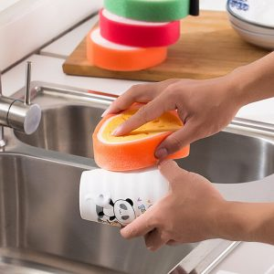 Fruit Shaped Micro Fiber Cleaning Sponge – 2Pcs
