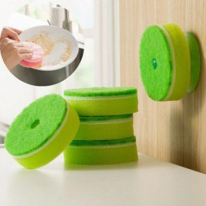 Double Face Cleaning Sponge 5Pcs/set