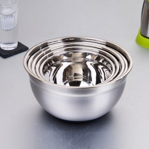Stainless Steel Sanding Mixing Bowls