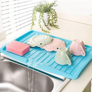 Kitchen Plastic Sink Drying Rack