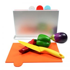 Antibacterial Chopping Board 4 Pcs Set