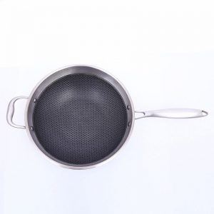 Non-Stick Skillet Pan With Cover