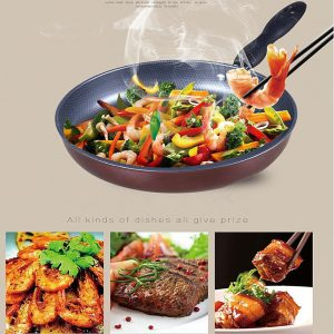 Stainless Steel Grill Frying Pan