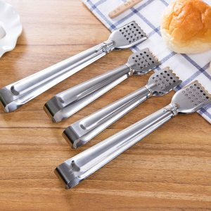 Stainless Steel Bread Clips Cake Tongs