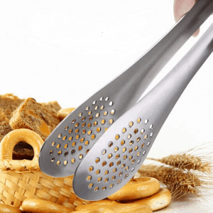 Stainless Steel Bread Tongs for Serving