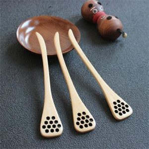 Wooden Honey Stirring Spoons