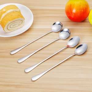 2PCS/Set Stainless Steel Stirring Spoons