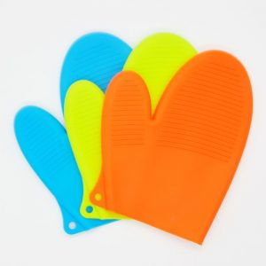 Anti Slip and Heat Resistance Silicone Mitts