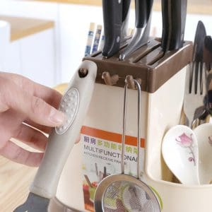 Knife Set Holder and Organizer for Kitchen