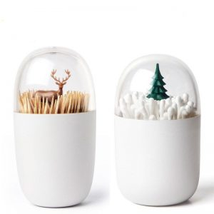 Toothpick & Cotton Swab Box Holder