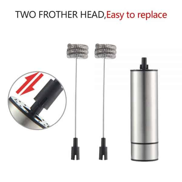 Triple Head Electric Whisk For Coffee