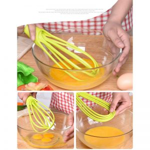 Multifunctional 2 in1 Food Whisk & Scraper