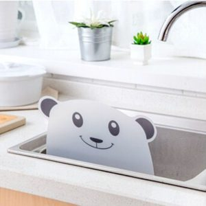Anti Splash Guard for Kitchen Sink Panda Design