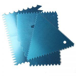 4Pcs/Set Toothed Decorating Blade For Cakes