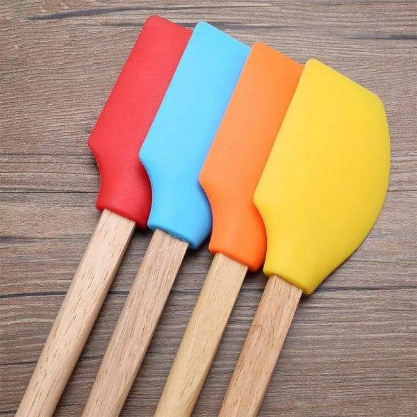Non-stick Silicone Spatula For Cake Decoration