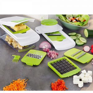 7 Blades All In One Vegetable Chopper, Slicer, Grater