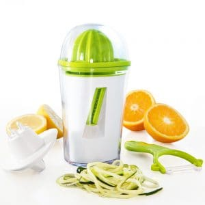 3 IN 1 Spiralizer, Juicer & Peeler