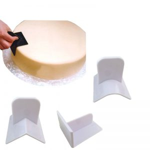 Cake Edge Smoother 3 Different Shapes